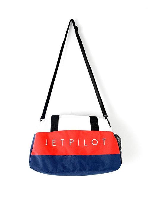 JETPILOT METAL DUFFLE BAG NAVY/RED