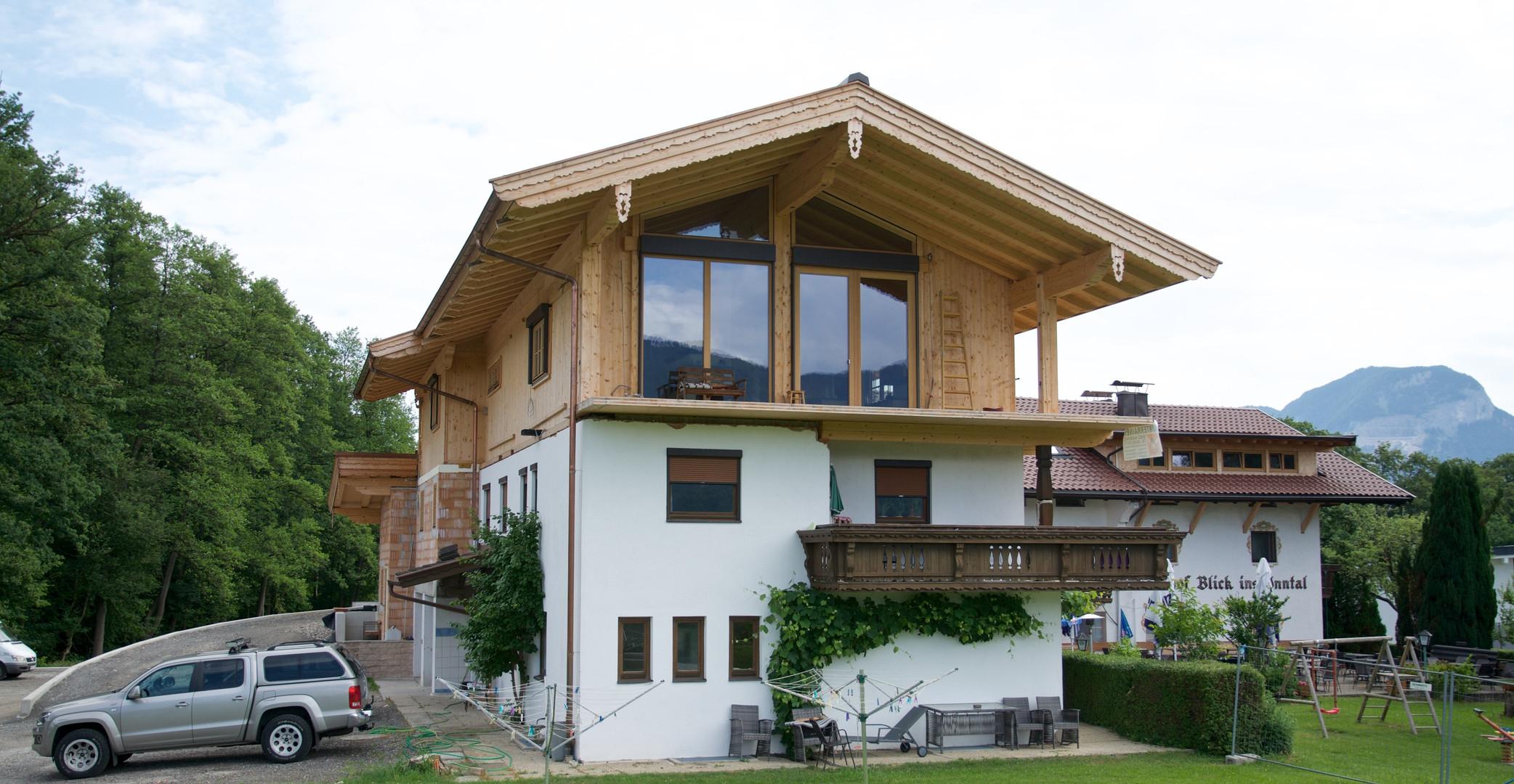 Wohnhaus Angerberg Blick ins Inntal