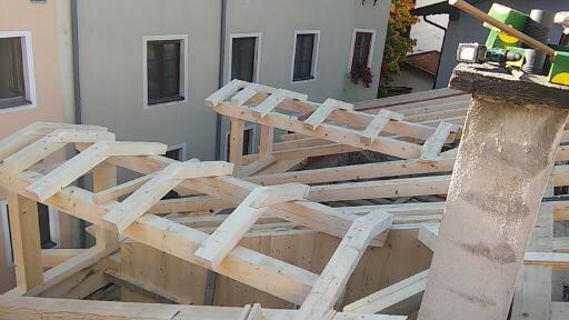 Renovierung Dachstuhl in Rattenberg