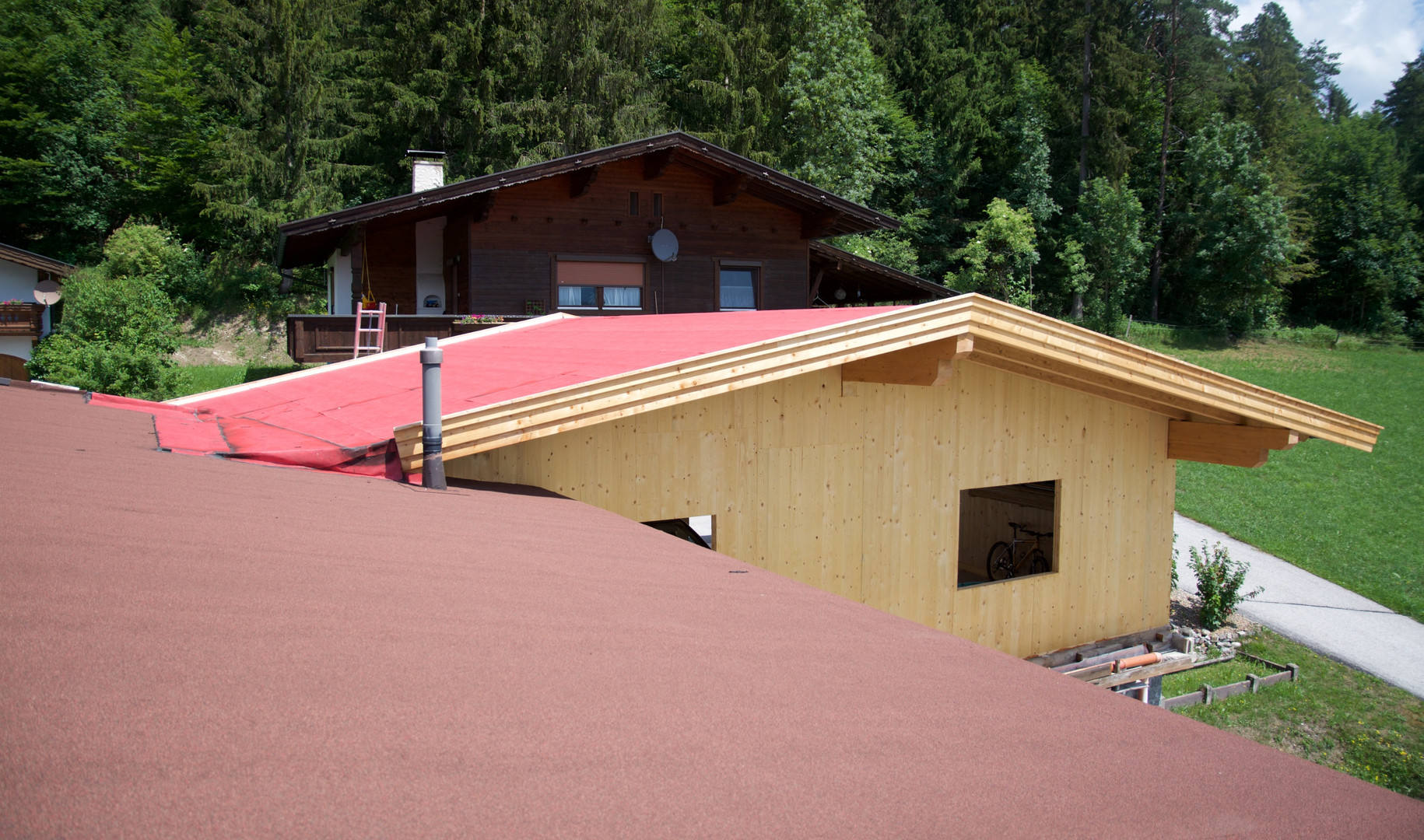 Anbau an Wohnhaus am Angerberg