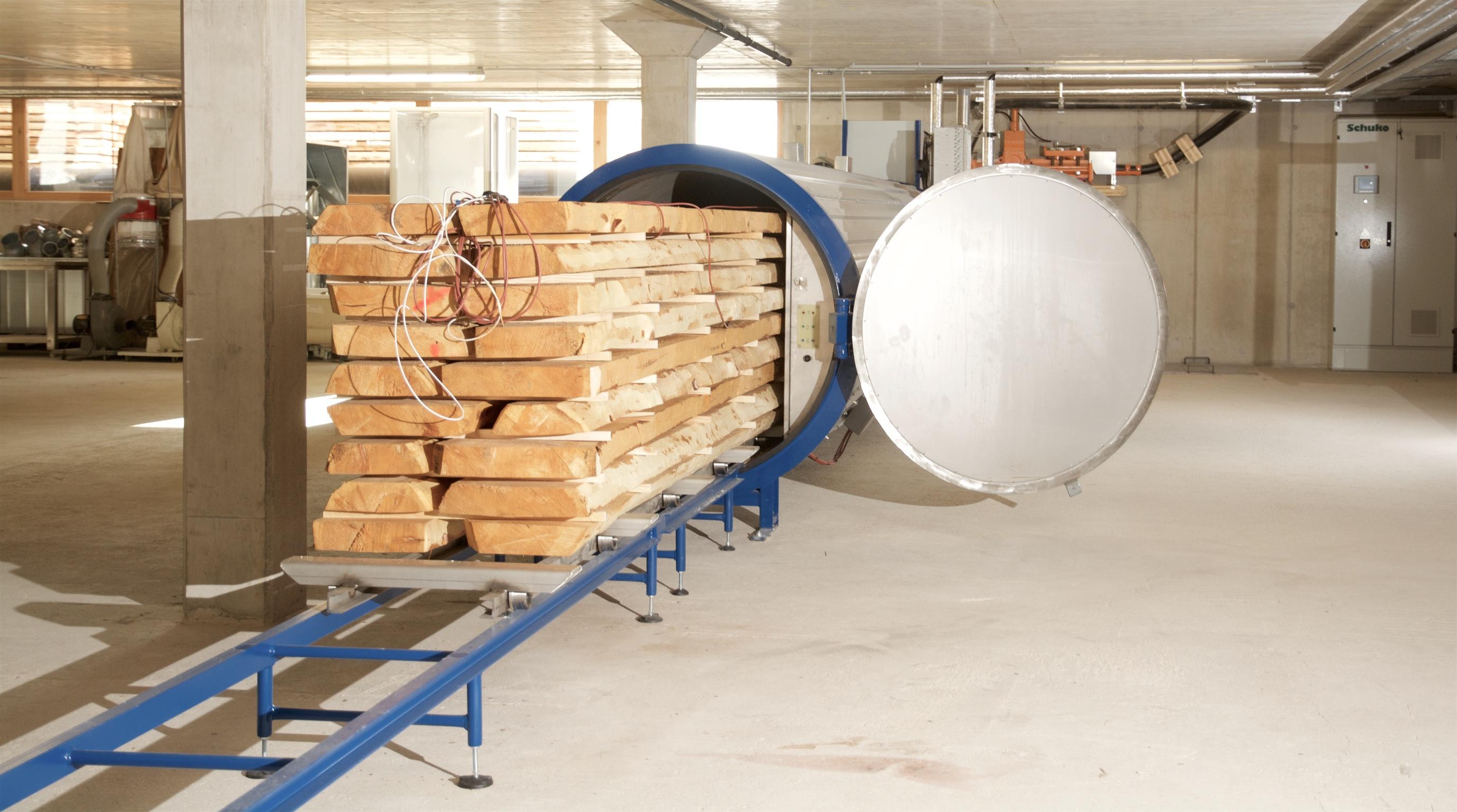 Holztrockenanlage