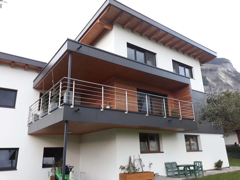 Anbau Aufstockung Wohnhaus