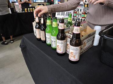 craft beer and cider tasting