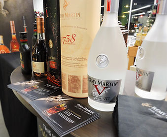 remy martin cognac sampling