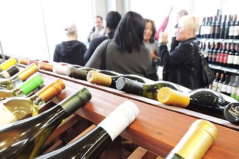 People Enjoying Wine Tasting Event