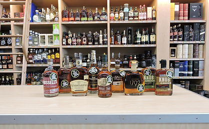 private barrel bourbon lineup