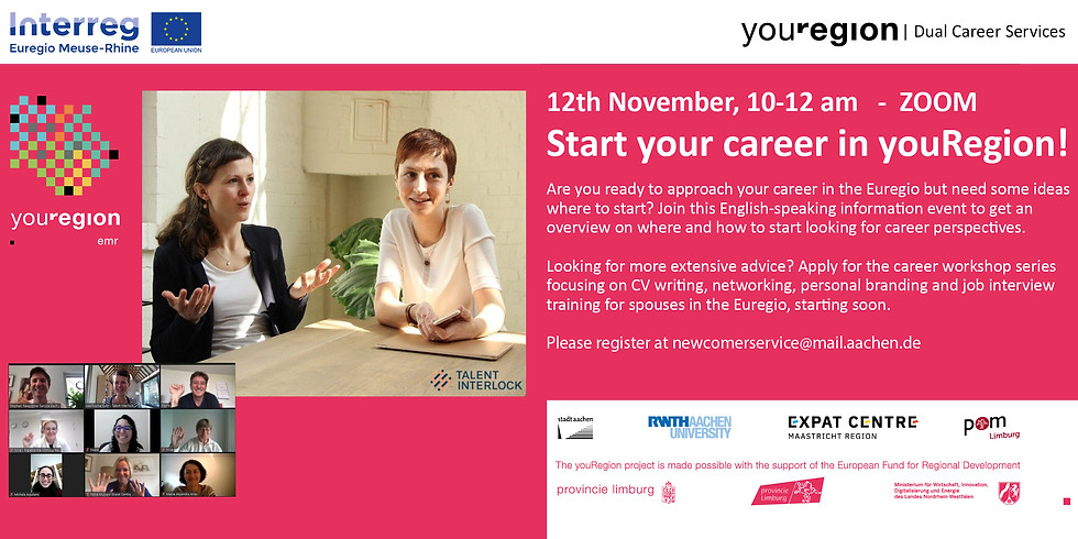 YouRegion Dual Career Services - Start your career in the youRegion!