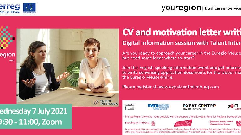 Start your career in youRegion!   CV Writing