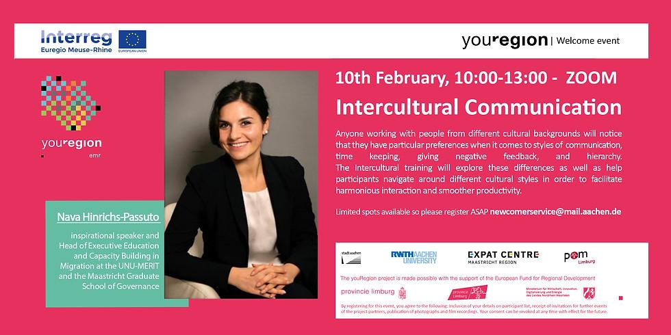 Fully booked!! Intercultural Communication by Nava Hinrichs-Passuto