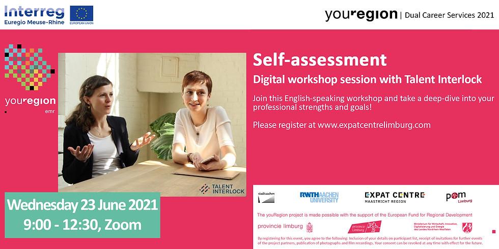 Start your career in youRegion!   Self Assessment