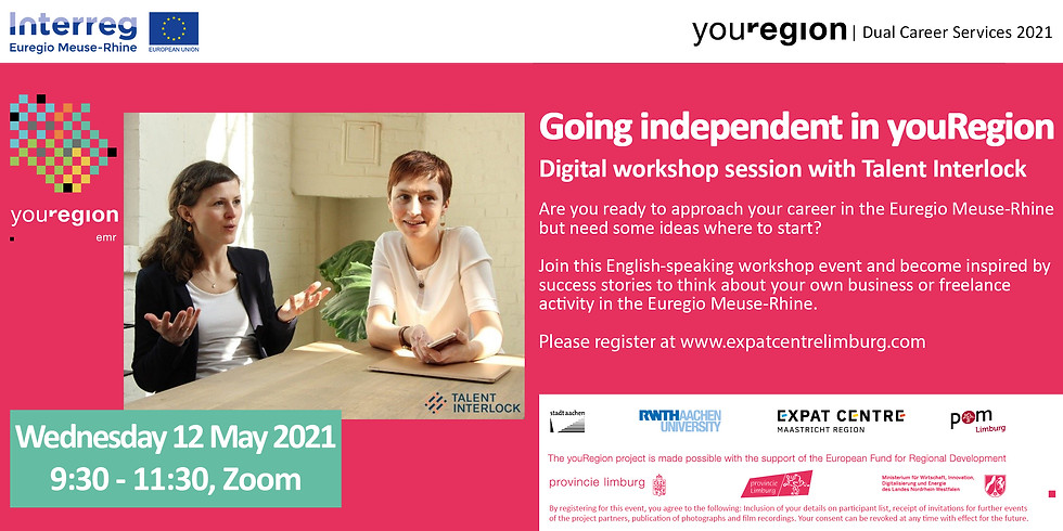 Start your career in youRegion!   Going Independent