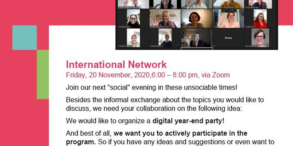 International Network - Let's e-meet!