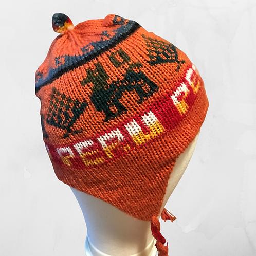 Kids Chullo - Orange Hat