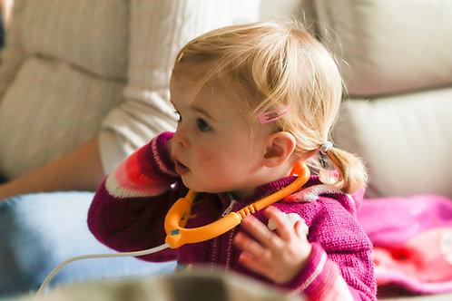 Children's Luxuriously Soft Cardigan - Magenta Pink