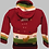 Thumbnail: Children's Luxuriously Soft Cardigan - Ruby Red