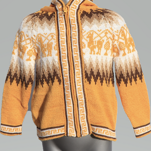 Children's Luxuriously Soft Cardigan - Yellow