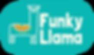 Funky Llama Logos_CMYKHorizontalPebble.p