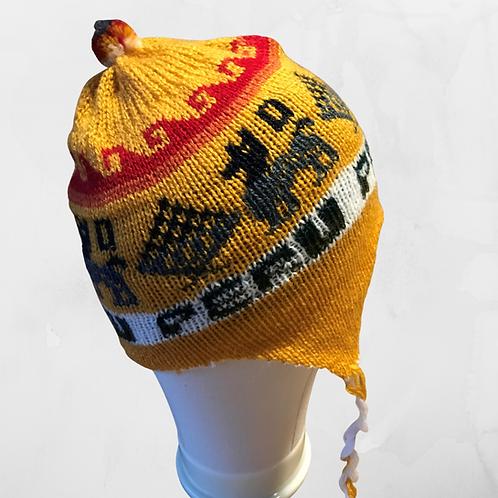Kids Chullo - Yellow Hat