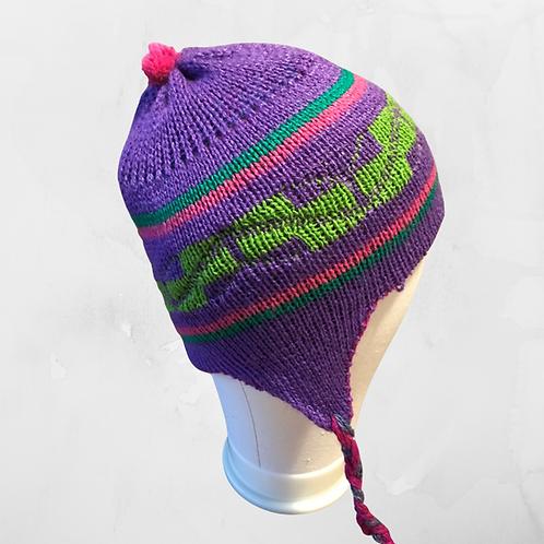 Kids Chullo - Purple Hat