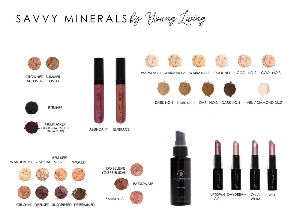 le maquillage savvy minerals by young living