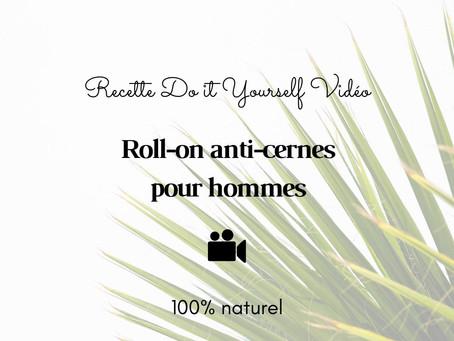 TUTO VIDÉO DIY: Roll-on anti-cernes pour homme