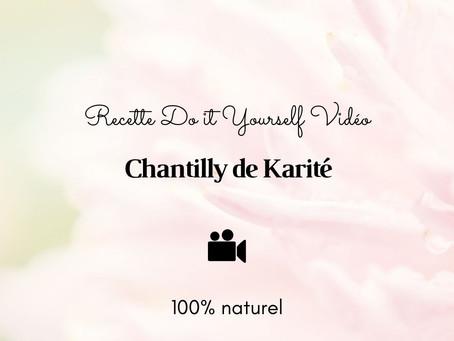 TUTO VIDÉO DIY Chantilly de karité