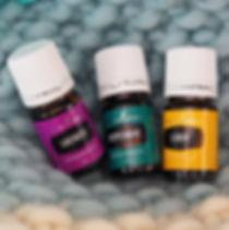 huiles essentielles young living lavender peppermint lemon