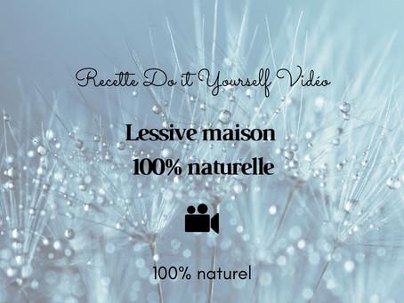 TUTO VIDÉO DIY: Lessive maison 100% naturelle