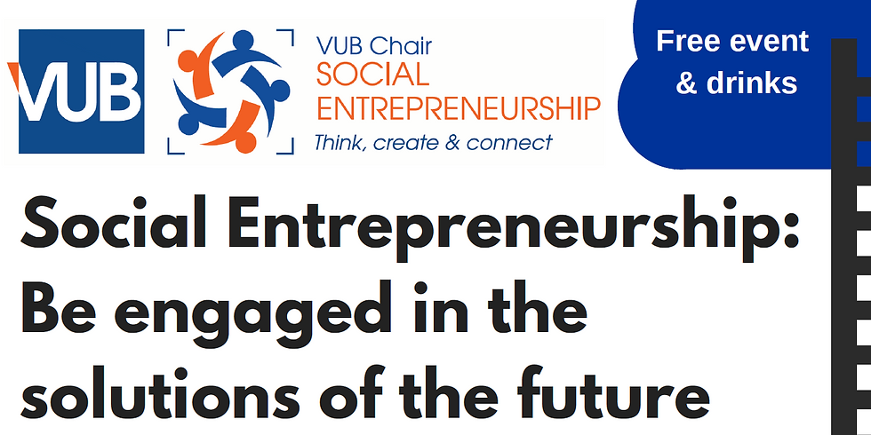 Social Entrepreneurship: Be Engaged in the solutions of the future
