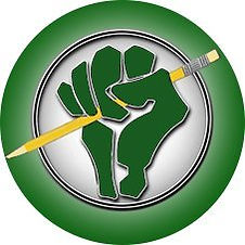 Northwest Teachers for Social Justice logo of a green fist holding a pencil