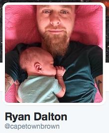 Ryan Dalton, @capetownbrown on Twitter