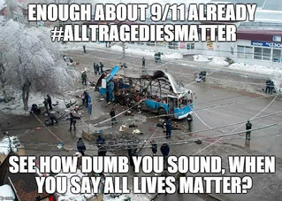 A #blacklivesmatter Matter