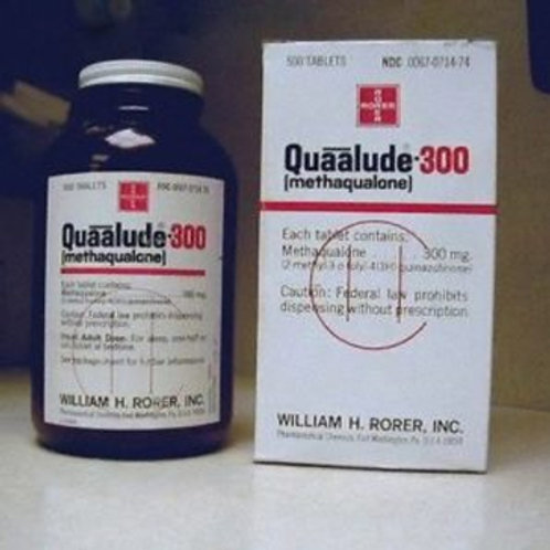 Quaalude (Methaqualone) 300MG