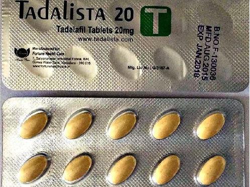 Tadalafil 20 mg