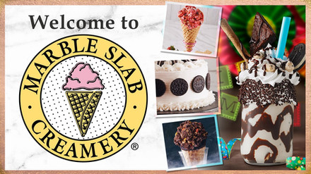 WELCOME AD - MARBLE SLAB CREAMERY - MAY