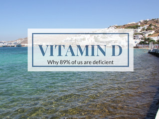 Vitamin D, a deficiency 89% of Australian's have.