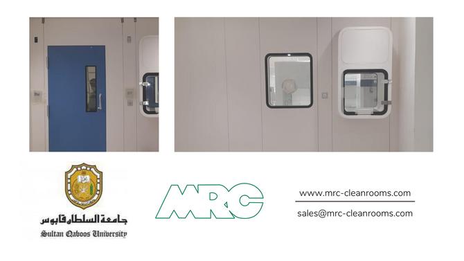 New Cleanroom Facility in Oman | Sultan Qaboos University