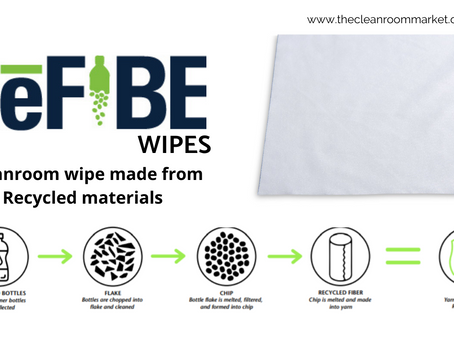 Cleanroom Wipes from Recycled Materials : TCM