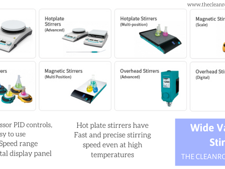 Hot Plates and Magnetic Stirrers