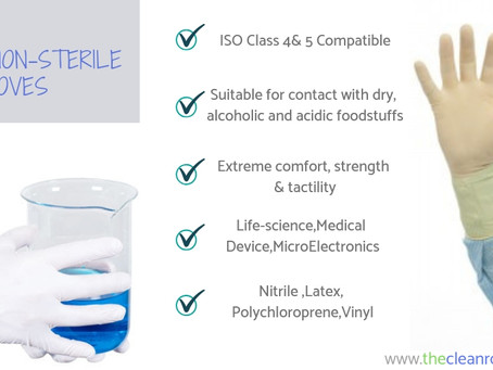 High Quality Cleanroom Gloves | Sterile and Non Sterile