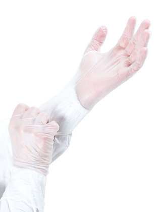 BIOCLEAN Vector Non-Sterile Vinyl Gloves from The Cleanroom Market