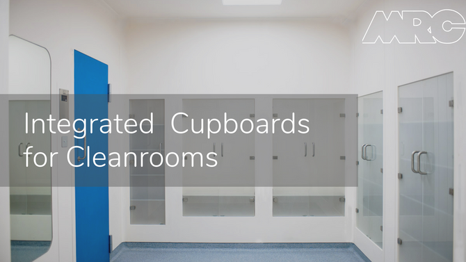Integrated Cupboards for Cleanrooms | MRC Cleanrooms