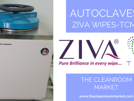 Autoclaves: Ziva Wipes - The Cleanroom Market