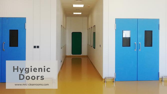 Hygienic GRP Doors: Swing and Sliding