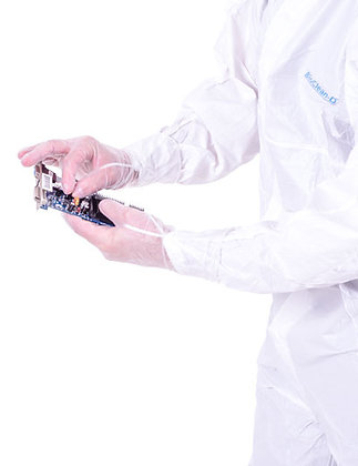 BIOCLEAN Vista Non-Sterile Vinyl Gloves from The Cleanroom Market