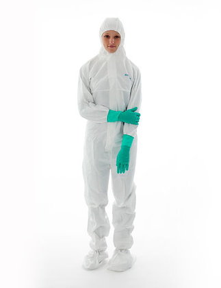 BIOCLEAN-D Non-Sterile Antistatic Coverall with Hood and Boots
