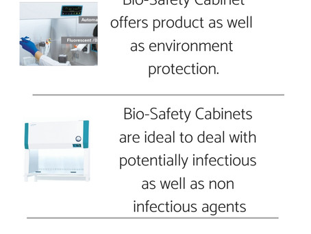 Laminar Flow & Bio Safety Cabinets | The Cleanroom Market