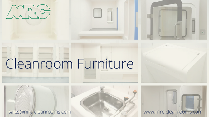 Cleanroom Furniture and Accessories from MRC Cleanrooms