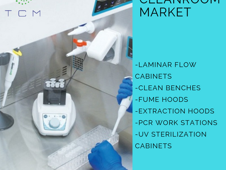 High quality Laminar flow Cabinets | Lab Equipment from T.C.M
