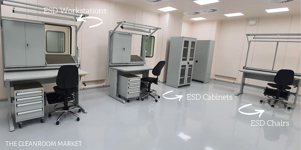 esd workstation, esd chairs
